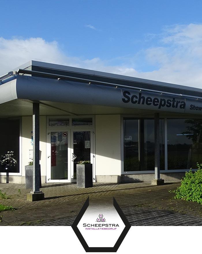 Scheepstra Installatiebedrijf uit Winsum: installateur en loodgieter